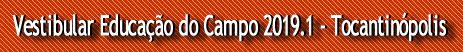 Educação do Campo 19.1 - Tocantinópolis