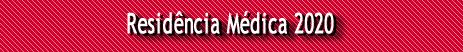 Residência Médica 2020